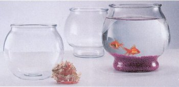 Anchor hocking classic drum style fish bowl fish tank for Restaurants with fish bowl drinks near me