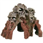 Exotic-Environments-Skull-Mountain-Aquarium-Ornament-Medium-9-Inch-by-6-Inch-by-6-Inch-0