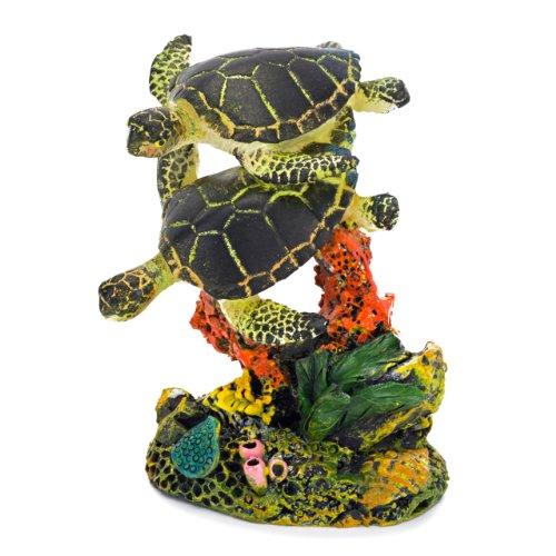 sea turtle aquarium decor small $ 10 04 the small swimming sea turtles ...