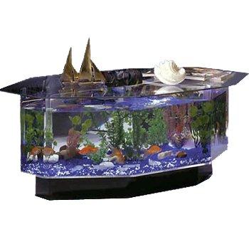 Aquarium Coffee Table W Six Sides Fish Tank Equipmentfish Tank Equipment
