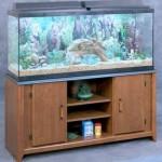Aquarium-Stand-For-55-Gallon-Tank-CherryBlack-24-38H-x-50L-x-15-38W-0