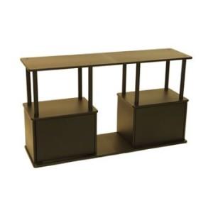 Aquatic-Fundamentals-55-Gallon-Aquarium-Stand-with-Shelf-0