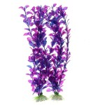 Jardin-Plastic-Aquarium-Fish-Tank-Grass-Plants-Ornament-Dcor-2-Piece-Purple-0
