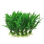 Jardin-Plastic-Aquarium-Tank-Plants-Grass-Decoration-10-Piece-Green-0