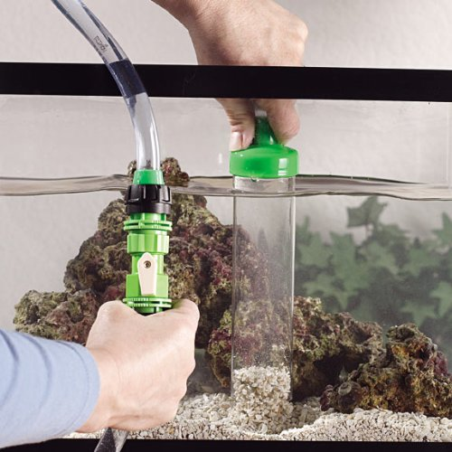 Python no spill clean and fill aquarium maintenance system for Fish cleaning feet