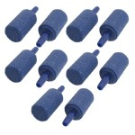 10PCS-145mm-x-25mm-Mineral-Bubble-Release-Aquarium-Air-Stone-Airstone-Blue-0