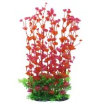 Jardin-Manmade-Plastic-Plant-for-Fish-Tank-142-Inch-Height-RedGreen-0