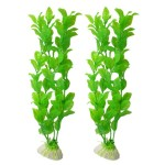 10-Length-Green-Plastic-Artificial-Plant-Fish-Tank-Aquarium-Ornament-2-Pcs-0
