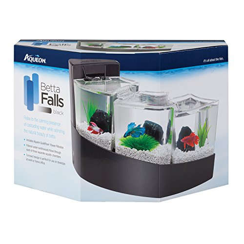 Aqueon betta falls kit black fish tank equipmentfish for Aqueon fish tank