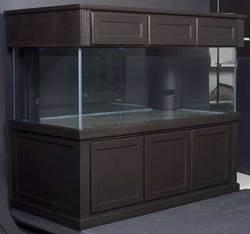 Fish-Aquatic-Supplies-Marine-Series-Rr-300-Gal-Blk-Tank-72X36x27-Starphire-0
