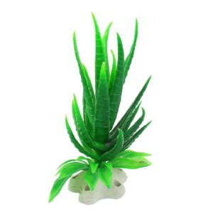 Jardin-Plastic-Artificial-Plant-for-Fish-Tank-43-Inch-Height-Dark-Green-0