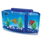 Penn-Plax-Deluxe-Triple-Betta-Bow-Aquarium-Tank-07-Gallon-0