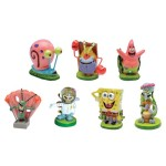 SpongeBob-SquarePants-2-Aquarium-Ornaments-7-Piece-Set-0