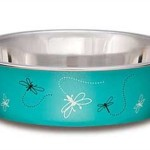 Loving-Pets-Dragonfly-Bella-Bowl-for-Pets-Small-1-Pint-Turquoise-0