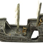 Aquatic-Creations-Sunken-Gondola-Shipwreck-Aquarium-Ornament-0